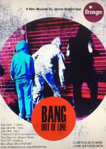 BANG Out of line POSTER